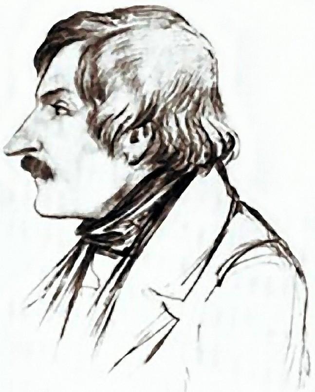 Эммануил Дмитриев-Мамонов, Карандашный портрет Н.В.Гоголя, 1840-е гг_2