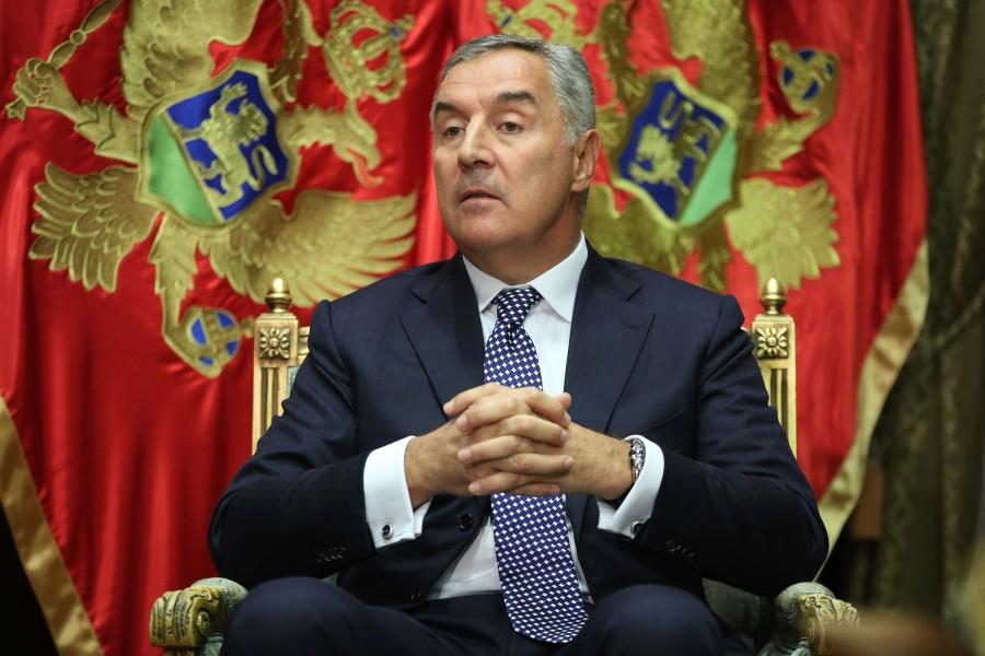 Президент Чорногорії Міло Джуканович
