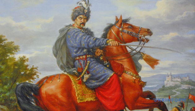 Портрет Ивана Богуна работы художника-баталиста Артура Орльонова