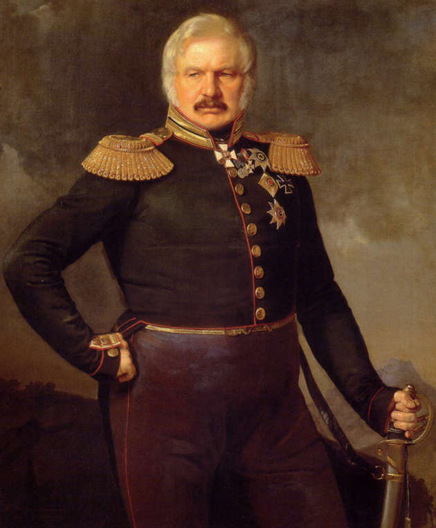 Портрет полководца Алексея Петровича Ермолова