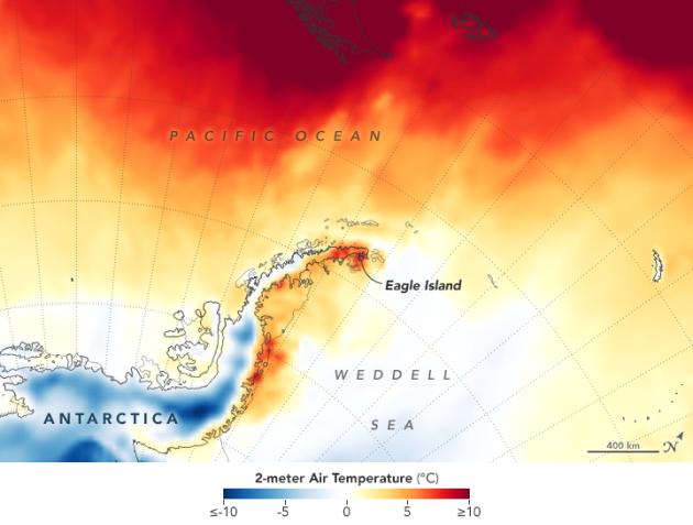 Швидке танення крижаної шапки в Антарктиді показало NASA (ФОТОФАКТ)