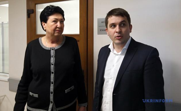 Таїсія Лобода та Керівник апарату виконавчого органу КМДА Дмитро Загуменний
