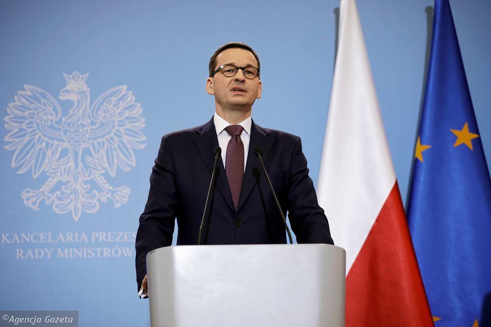 Матеуш Моравецький / Фото: Maciek Jaźwiecki / Agencja Gazeta