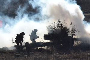 Ocupantes atacan las posiciones ucranianas cerca de Talakivka