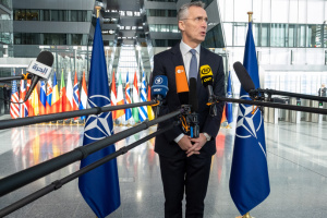 NATO concerned about Russia's military build-up in Black Sea region, Crimea - Stoltenberg