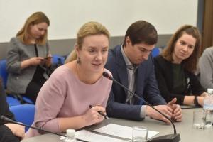 Пресбрифінг заступника міністра культури, молоді та спорту України Світлани Фоменко