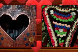 Ужгородський скансен показав добірку старовинних речей із сердечками