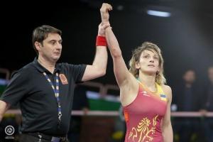 La ucraniana Tkach-Ostapchuk se lleva el oro del Campeonato de Europa de Lucha