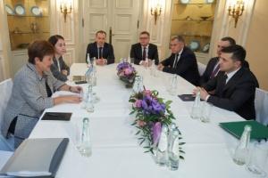 Zelensky, Georgieva discuss judicial reform, 'bank bill'