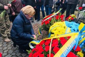 """Пам'ять загиблих """"афганців"""" у Києві вшанували на мітингу-реквіємі"""