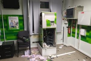 У Миколаєві підірвали банкомат і вкрали 250 тисяч