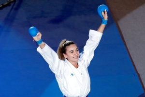 Karate: Ukrainerin feiert Sieg bei Premier League in Lissabon