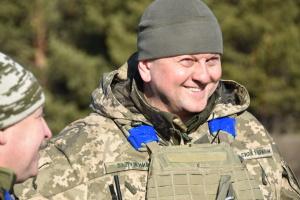 Валерій Залужний, генерал-майор, командувач військ ОК «Північ»
