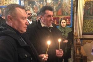 Данілов в Ірані вшанував пам'ять українців, які загинули в катастрофі літака МАУ