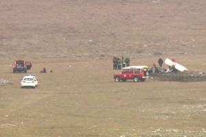 На півдні Франції впав і загорівся літак: є загиблі