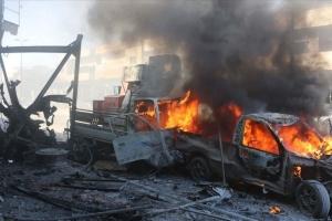 На севере Сирии подорвали авто со взрывчаткой, есть погибшие