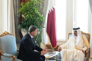 Новий посол України вручив вірчі грамоти емірові Катару