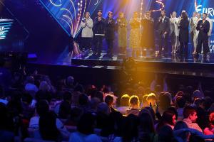 Selección nacional para Eurovisión: Clasificados en la segunda semifinal