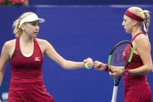 Сестры Киченок победили в первом круге турнира WTA в Дубае