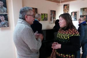 В Житомире открылась фотовыставка «Взгляд АТО – 1000 лиц»