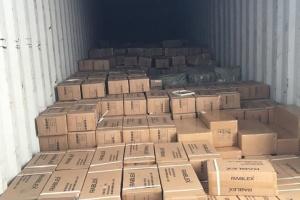 Контрабанда недели: в Одессу пытались ввезти почти полмиллиона батареек