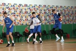 Баскетболисты сборной Украины потренировались перед стартом евроотбора
