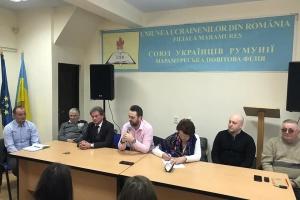 Голова Союзу українців Румунії взяв участь у робочій зустрічі Марамороської філії
