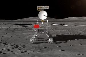 """Китайский зонд на Луне """"проснулся"""" после очень холодной ночи"""