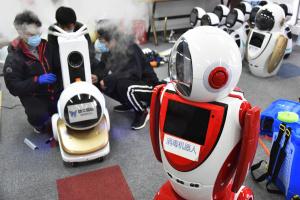 В Китае создали роботов для борьбы с коронавирусом