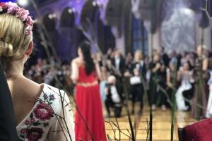 5-й Український бал у Відні: Христина Соловій, Олег Скрипка та Катя Осадча