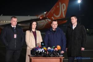 Літак для евакуації українців вилетів до китайського Уханя