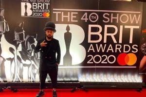 MONATIK на червоній доріжці ювілейної BRIT Awards