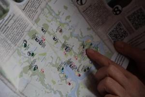 """""""Легенды Понизья"""" на Хмельнитчине получили туристическую карту"""