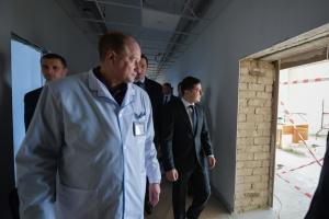 Бориспільську лікарню відремонтують до липня — Зеленський