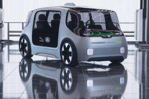 Jaguar представил концепт своего электрошатла