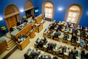 """Парламент Эстонии осудил российскую """"версию"""" Второй мировой"""