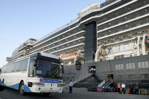 На лайнере Westerdam зараженных коронавирусом не обнаружили