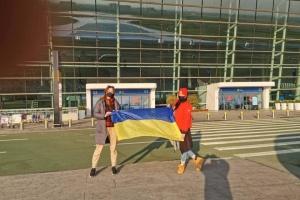 Літак, який має забрати українців з Китаю, вже в Ухані