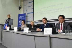 Презентация результатов исследования ситуации с внутренне перемещенными лицами в Украине