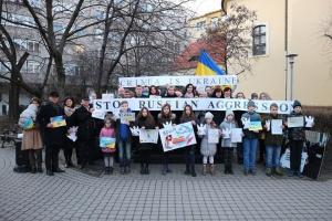 У Будапешті нагадали про початок збройної агресії РФ проти України та вшанували Небесну Сотню