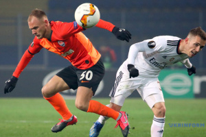 Shakhtar Donetsk beat Benfica in first leg of Europa League Round of 32