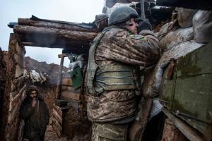 Оккупанты били из 120-мм минометов под Марьинкой и Орехово