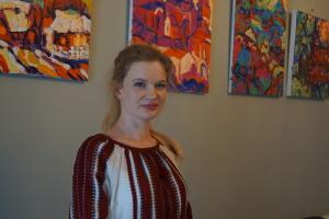 У Нідерландах проходить виставка української художниці