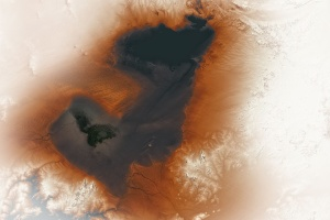 NASA показало, як виглядало стародавнє озеро у Сахарі