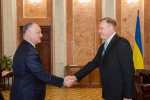 Новий посол України почав роботу в Молдові