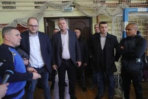 Бородянский посетил олимпийский центр «Конча-Заспа»