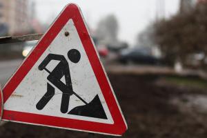 В Киеве с путепровода осыпался бетон