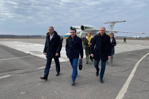 NSDC Secretary Danilov arrives in Novi Sanzhary