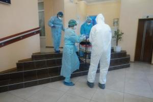 Епідеміологи у Нових Санжарах зібрали матеріал на коронавірус у евакуйованих з Китаю