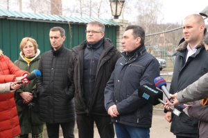 """Під час протестів у Нових Санжарах були """"професійні"""" підбурювачі - Данілов"""